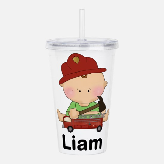Laim's Little Firefigh Acrylic Double-wall Tumbler