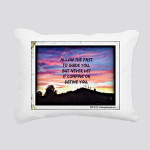 Let The Past Guide Rectangular Canvas Pillow