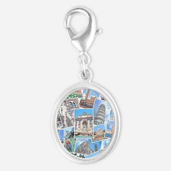 Italy Collage Charms
