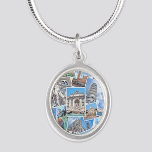 Italy Collage Necklaces