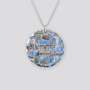 Italy Collage Necklace