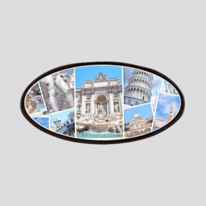 Italy Collage Patch