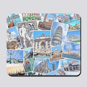 Italy Collage Mousepad