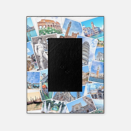 Italy Collage Picture Frame