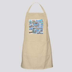 Italy Collage Apron