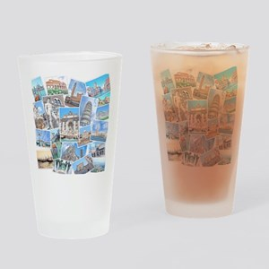 Italy Collage Drinking Glass