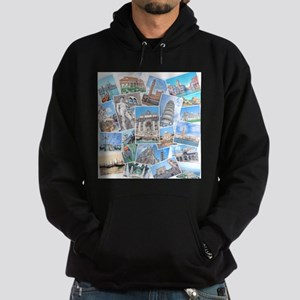 Italy Collage Hoodie