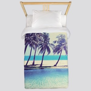 Tropical Beach Twin Duvet