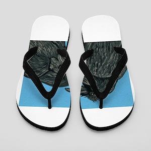 Raven Love Flip Flops