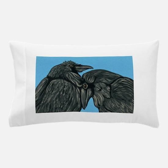 Raven Love Pillow Case