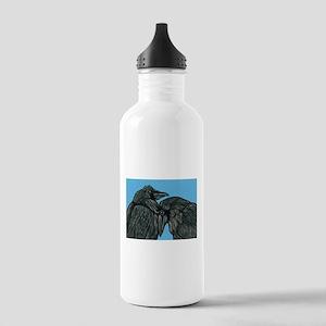 Raven Love Water Bottle