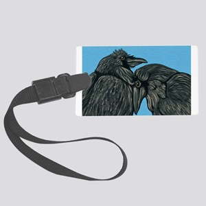 Raven Love Large Luggage Tag