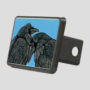 Raven Love Rectangular Hitch Cover