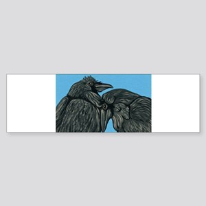 Raven Love Bumper Sticker