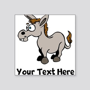 Cartoon Donkey (Custom) Sticker
