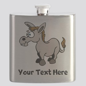Cartoon Donkey (Custom) Flask