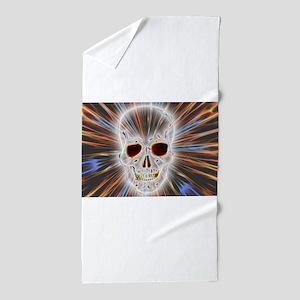Skull Gothic Beach Towel