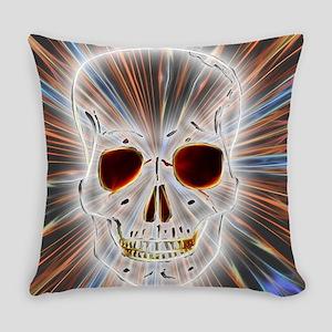 Skull Gothic Everyday Pillow