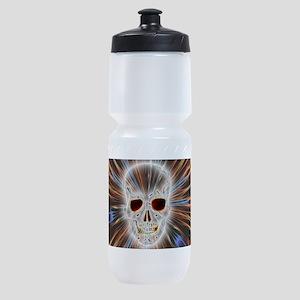 Skull Gothic Sports Bottle