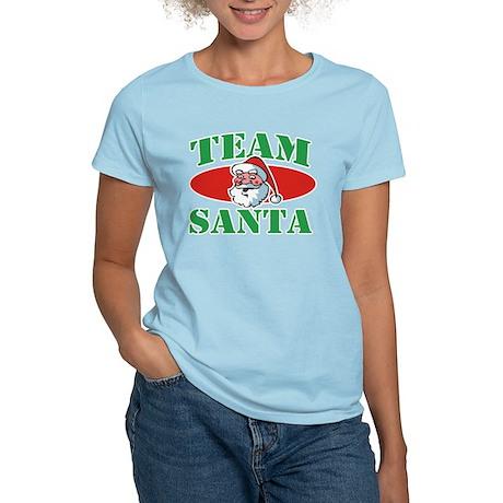 Team Santa Christmas Women's Light T-Shirt
