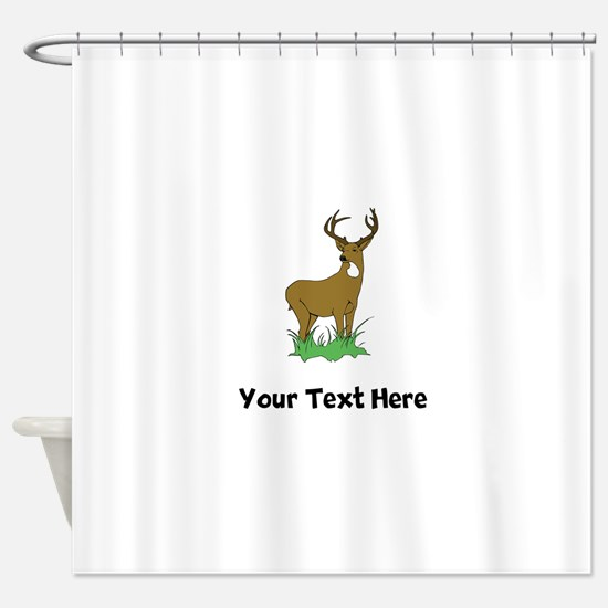 Buck (Custom) Shower Curtain