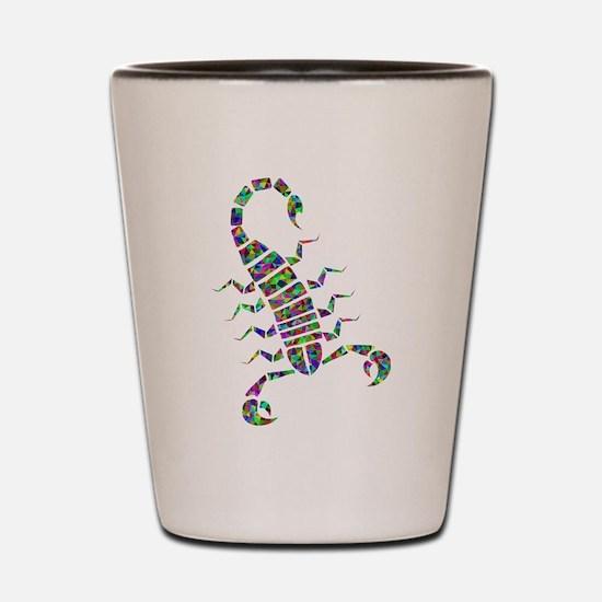 Unique Scorpion Shot Glass