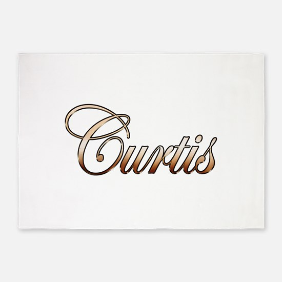 Gold Curtis 5'x7'Area Rug