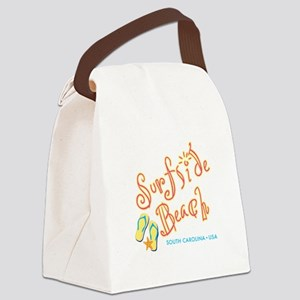 Surfside Beach - Canvas Lunch Bag