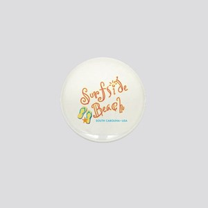 Surfside Beach - Mini Button