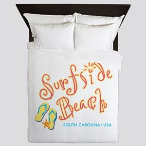 Surfside Beach - Queen Duvet