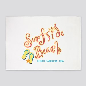 Surfside Beach - 5'x7'Area Rug