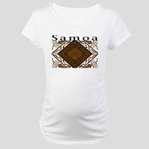 SAMOAN STYLE Maternity T-Shirt