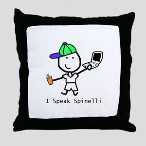 Geek - Spinelli Throw Pillow