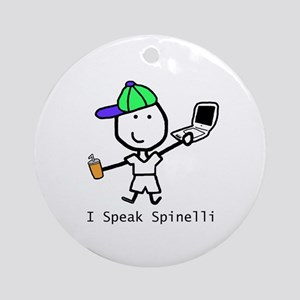 Geek - Spinelli Ornament (Round)