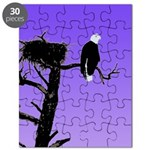 Sunset Bald Eagle Puzzle