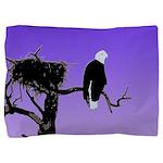 Sunset Bald Eagle Pillow Sham