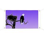 Sunset Bald Eagle Banner