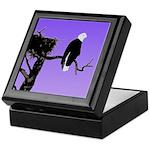 Sunset Bald Eagle Keepsake Box