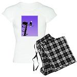 Sunset Bald Eagle Women's Light Pajamas