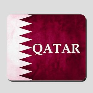 QATAR COUNTRY FLAG Mousepad