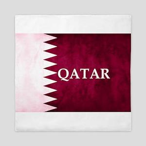 QATAR COUNTRY FLAG Queen Duvet