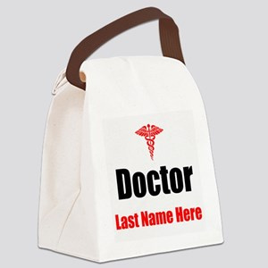 Doctor Canvas Lunch Bag