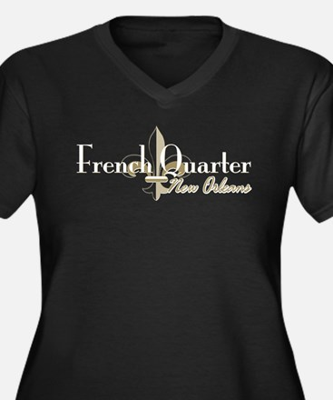 French Quarter New Orleans Plus Size T-Shirt