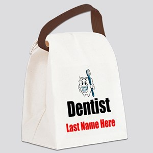 Dentist Canvas Lunch Bag