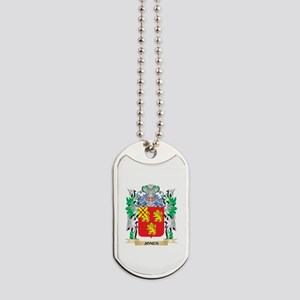 Jones Coat of Arms - Family Crest Dog Tags