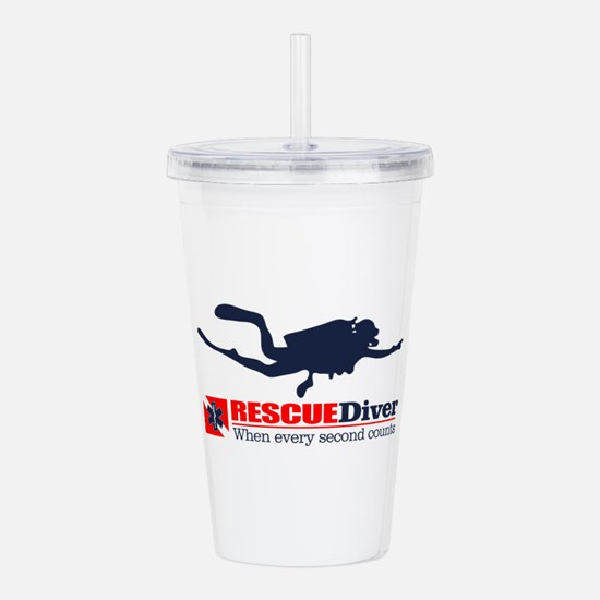 RESCUEDiver Acrylic Double-wall Tumbler