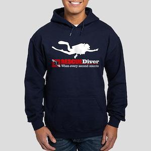 Rescuediver Hoodie (dark)