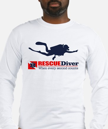 RESCUEDiver Long Sleeve T-Shirt