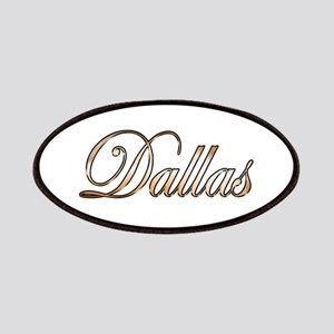 Gold Dallas Patch