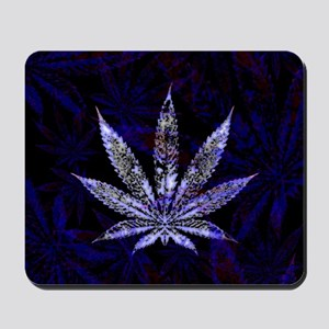 Hemp Leaf Art Mousepad